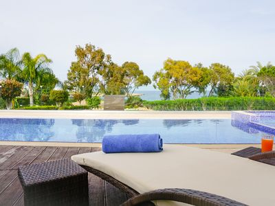 Photo for Beach Front Bella Vista - Modern and Luxurious Beach Front Villa in the hear of Protaras
