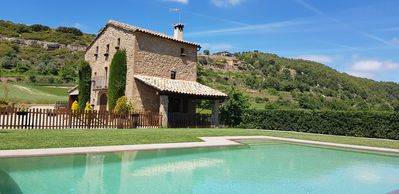 Photo for MASIA IN THE FIELD WITH VIEWS TO THE PYRENEES