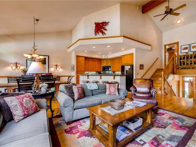 Photo for Spacious Townhome w/Private Garage & Deck to Enjoy the Summer Mountain Air!