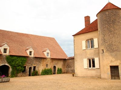 Photo for 17th century manor house for 8-10 persons