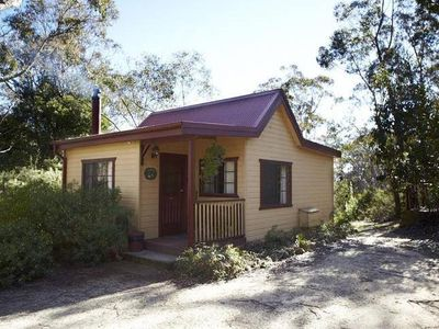Photo for Tricklebeck Spa Cottage: Luxury romantic wood cabin in peaceful location