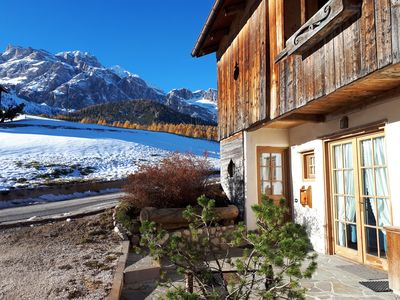 Photo for CORTINA Splendid Chalet directly on the PisteTofana-Socrepes 4-5 places