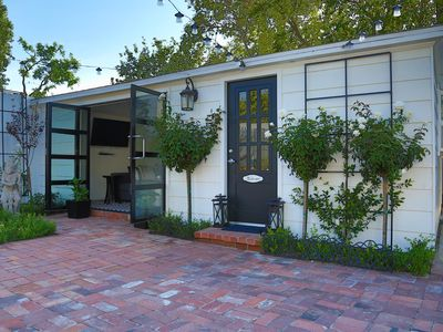 Photo for Secluded hip cool guesthouse in Studio City close to restaurants and shopping.