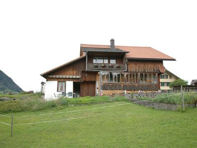 Photo for Cosy ground floor apartment with privat terrace and great views