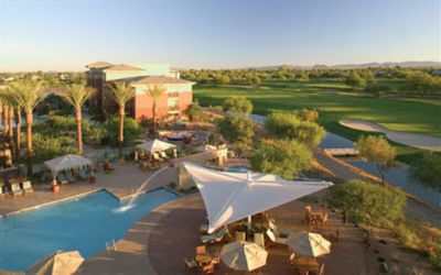 3 swimming pools: acitivity pool with 80-foot water slide, tot pool & whirlpool.