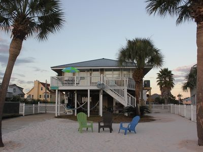 Enjoy easy Beach access from Bonnie Dune our cottage on Little Lagoon!