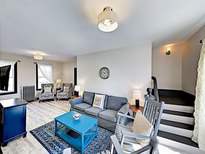 Newly Renovated Haven w/ Deck, Near Downtown: Walk to Shops, Dining &  Marina
