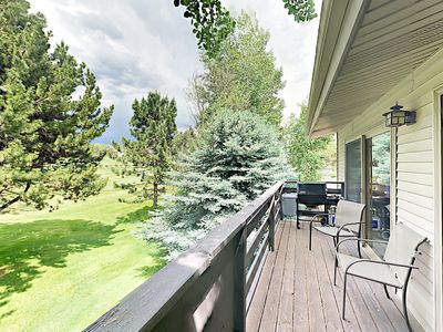 Photo for Private Deck Overlooking Golf Course! Near Aspen, Basalt Mountain & Snowmass