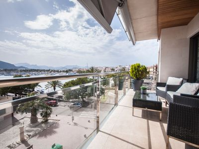 Photo for 3 bedroom Apartment, sleeps 5 in Port d'Alcudia with Air Con and WiFi