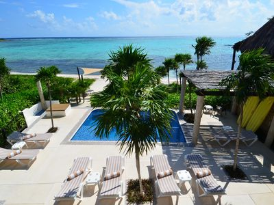 Photo for Serenity Suite - Casa Aquamarine, 2 Bdrm Oasis near Tulum!