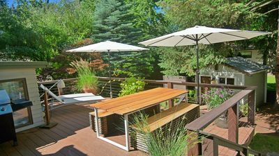 Photo for Incredible Hideaway with Creek & Sauna,  Steps from Whitman & Downtown