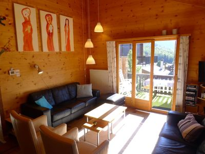 Photo for Vacation home Rietsli in Grächen - 8 persons, 4 bedrooms