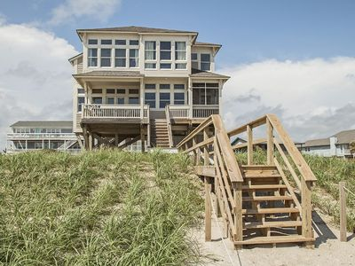 Photo for Oceanfront, wireless internet, direct beach access