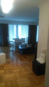 Photo for Spectacular, Furnished and spacious apartment. Located in Vitacura, Santiago