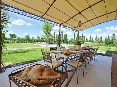 Photo for Stunning 4 bedroom Villa in Montelopio di Peccioli (Q0842)