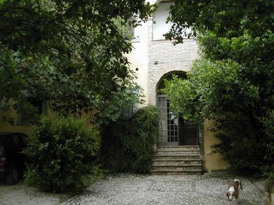 """Photo for """"La Loggetta"""" Villa in the green heart Umbria with panoramic view and pool"""