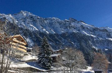 #Chalet Aberot...HOLIDAY FLAT #1 - BEST LOCATION & VIEWS IN TOWN