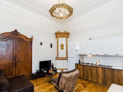 Photo for Gorgeous Old Agmashenebeli Apartments in historic building