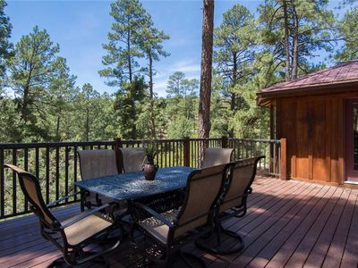 Photo for Upper Canyon Cabin, 3 Bedrooms, Sleeps 6, Electric Fireplace, Hot Tub