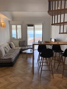 Photo for MAGNIFICENT TWO-ROOM APARTMENT WITH SEA VIEW