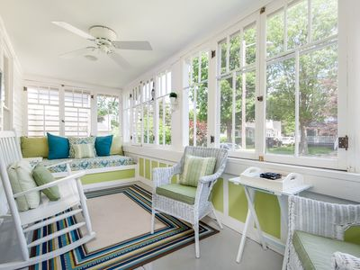 Photo for Weekly Discounts at Cozy Cottage w/Sun Porch 2 Blocks to Kids Corner & South Beach!