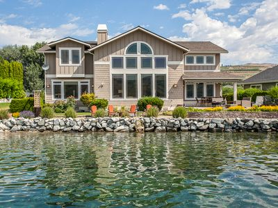 Photo for Sun Harbor at Mill Bay - Lake Chelan Waterfront home with private boat slip!