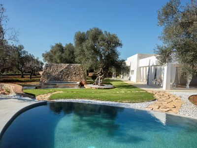 Photo for Completely surrounded by very ancient olive trees, Dimora Daluma is a newly built of local tuff char
