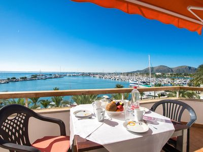 Photo for 3BR Apartment Vacation Rental in Alc��dia, Balearic Islands
