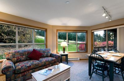 Photo for Prime Ski-in Ski-out Location! Pool, Hot tubs, BBQ, sleeps 6 (252)
