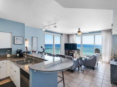 Photo for Gulf Front Spectacular Views, Same Floor Resvd Parking, Shores of Panama 703
