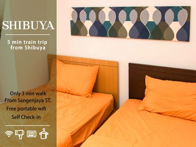 Photo for close to Shibuya, 3BR Welcome big groups