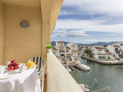 Photo for Apartment Port Empuries in Empuriabrava - 4 persons, 1 bedrooms