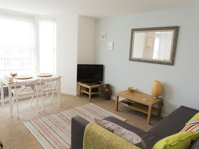 Photo for Carbis Bay St Ives apartment close to fantastic beach and stunning coastline...