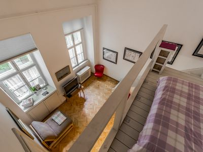 Photo for Central, tranquil stunning apartment steps from Andrassy ut, Opera and Oktogon