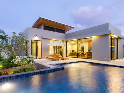 Photo for Modern Zen 3BR Villa for Family Holiday