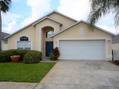 Photo for 5 Bedroom Disney Orlando Private Pool Home in a Gated Resort!