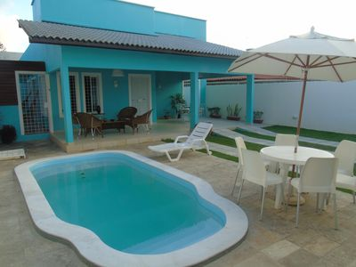 Photo for Charming beach house with pool in Serrambi