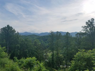Photo for Private new home with a view! Close to Harrah's Casino and Smokey Mtn railway