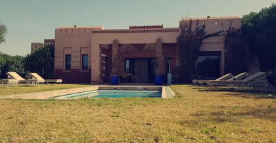 Photo for Villa ZZ apple garden with private pool. Quiet and not overlooked.