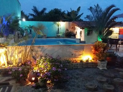 Photo for Wonderful 3 bedroom house (1 suite) with pool