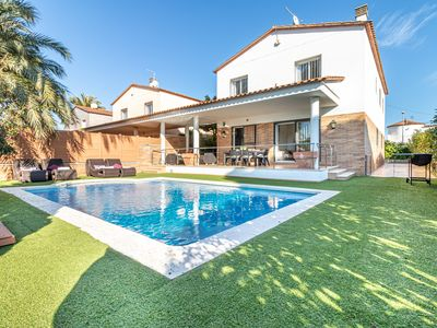 Photo for Apart-Rent-House at the canal with pool and mooring (0050)