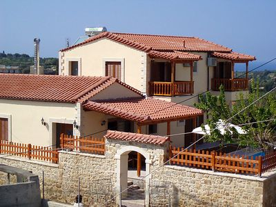 Photo for 4 bedroom Villa, sleeps 8 in Asteri with Pool, Air Con and WiFi