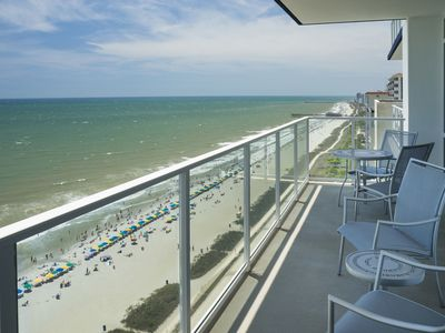 Photo for Ocean 22- 2 Bdrm Oceanfront Suite with Family Friendly Ammenities