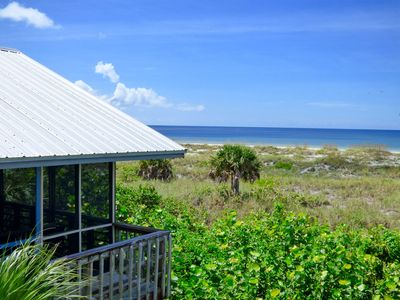 """Photo for FALL SPECIAL! Sand Dollar Cottage: """"Old Florida"""" Oceanfront; Private Dock!"""