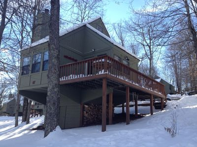 Photo for Cozy Cabin with Swimming, Hiking, Skiing and Biking