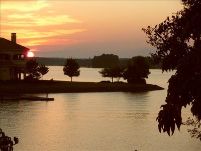 Photo for Lake Norman Cottage w/ HOT TUB - Pier & Dock - Sunsets - Fishing - Family Time!!