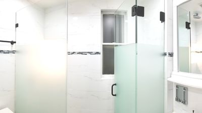 Enjoy the most luxurious shower underneath the #1 rated rain shower head