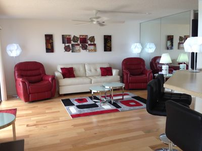 Photo for Dream Direct Ocean Front. Upscale Modern Italian Furniture 3 BR./2 Bath. WiFi