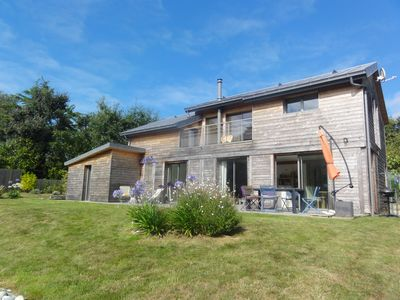 Photo for Holiday house with pool in Beg-Meil