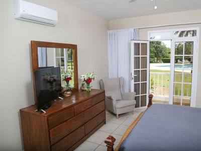 New Host Two Bedroom Condo, Water Park, Gym, beach, Pool and Wheelchair Access.